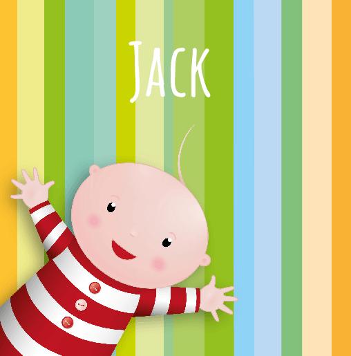 voorkant Hello baby Jack