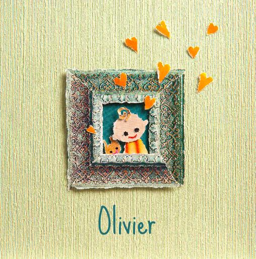 voorkant Portretje Olivier