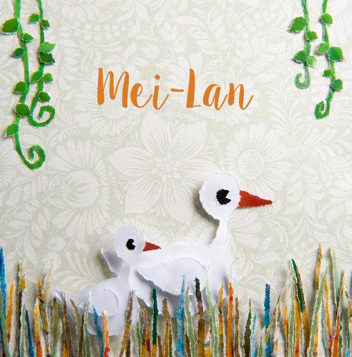 voorkant Eendjes in het riet Mei-Lan