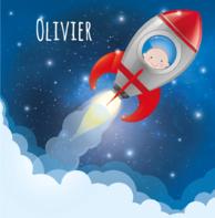 Baby raketje Olivier