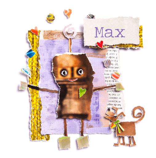 voorkant Robotje Max