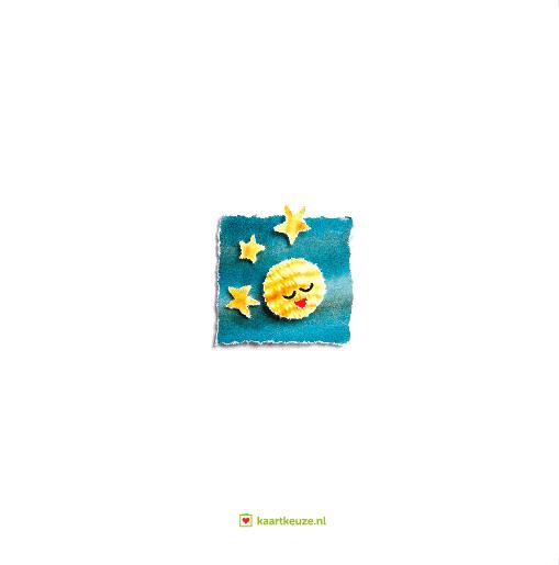 achterkant Verhuiskaart in het zonnetje