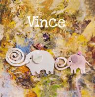 Geboortekaartje olifantjes Vince