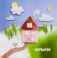 Verhuiskaart huisje