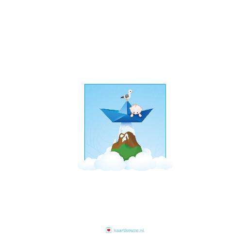 achterkant Bootje blauw Vesper