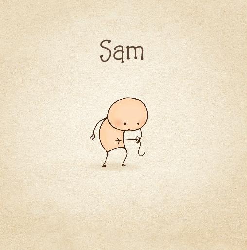 voorkant Babykaartje grappig baby navelstreng