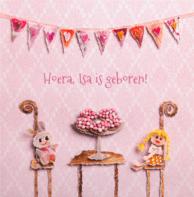 Geboorte roze muisjes