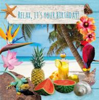 Verjaardagskaart Hawaii