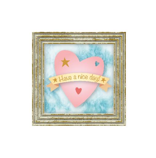 binnenkant links Verjaardagskaart hart pastel