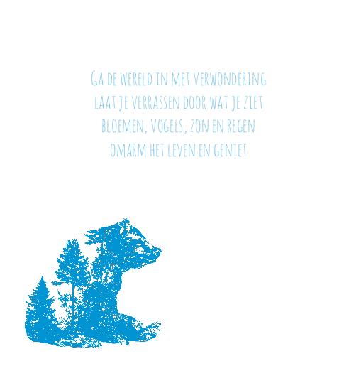 binnenkant links silhouet beer wolf blauw