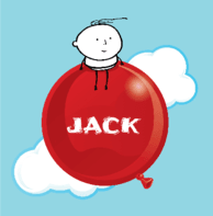 Geboortekaartje baby ballon Jack