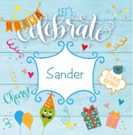 Verjaardags celebrate