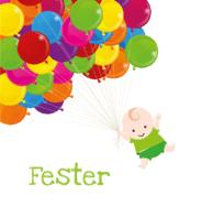 Ballonnetjes Fester